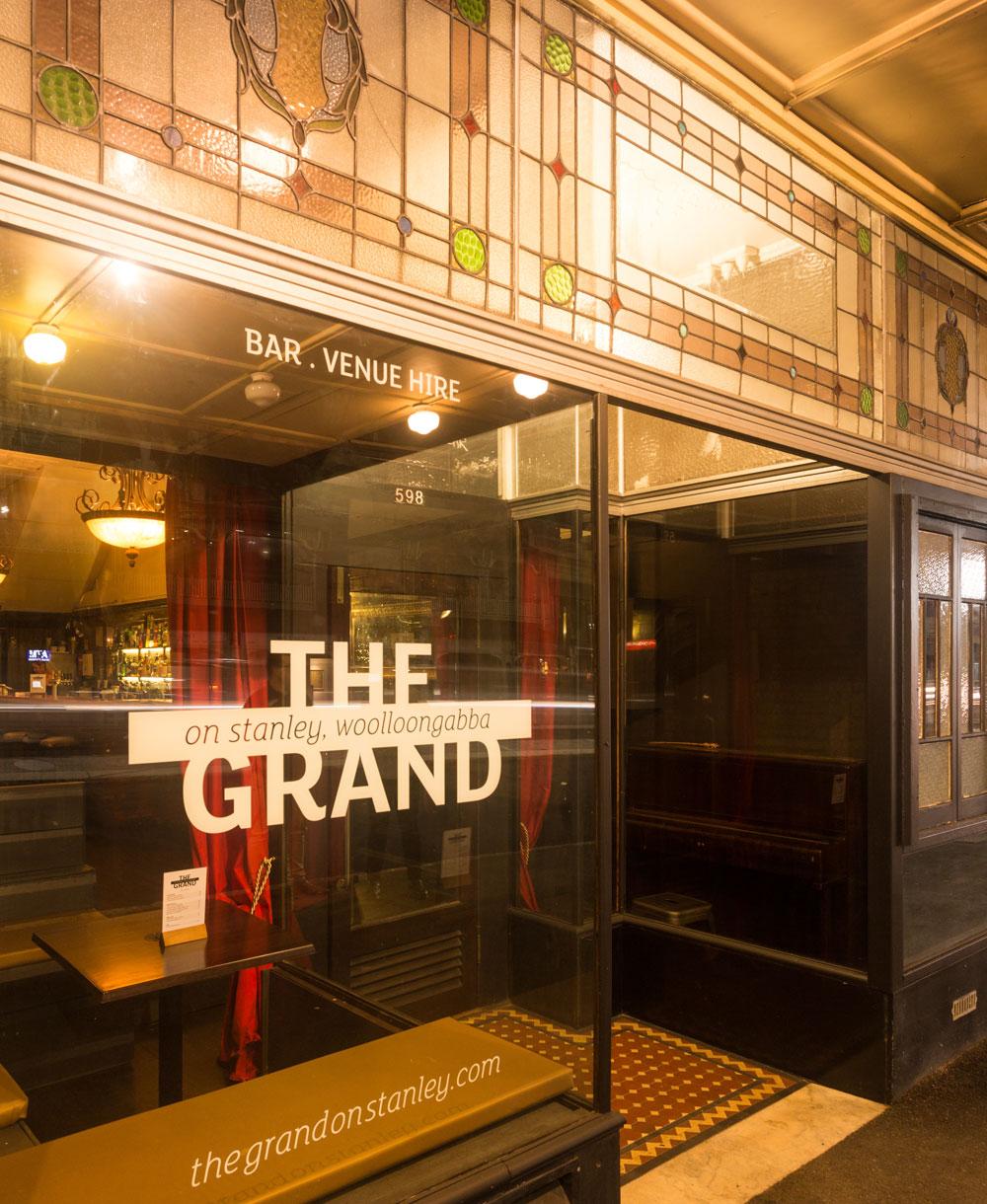 The Grand facade
